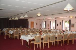 Hotel Gjerrild Kro, bordopdækning, festsalen