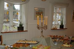 Hotel Gjerrild Kro, duge, farver, fest,