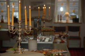 Hotel Gjerrild Kro, fest, menu, buffet,