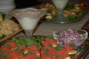 Hotel Gjerrild Kro, mad ud af huset, fest, fejring